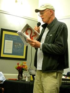 Writer Chris Krohn, from Santa Cruz, reads his memoir piece about growing up in NYC.